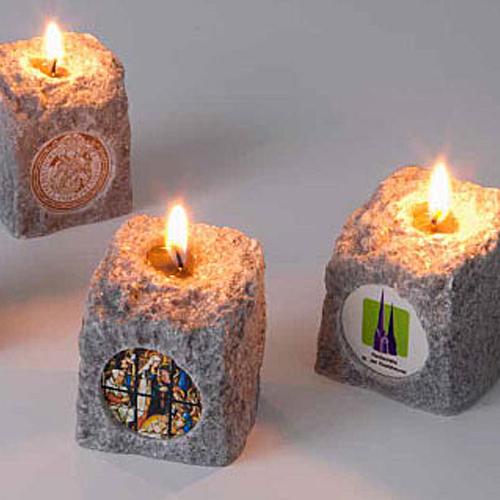 Bedrukte granietsteenkaarsen