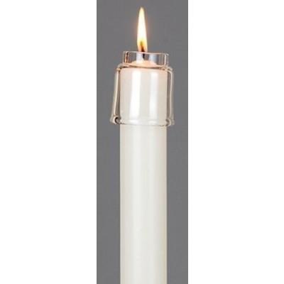 Spaardop, glas, 34 mm.