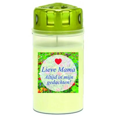 Graflicht wit 3d Lieve mama