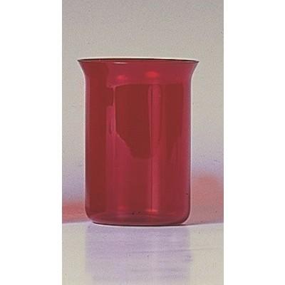 Godslampglas rood, 11 cm ( 3 dg.)
