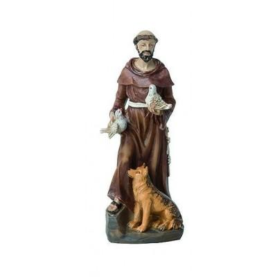 Beeld, H.Franciscus, 12 cm.