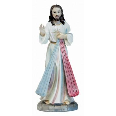 Beeld 12 cm H.Hart Jezus met strale
