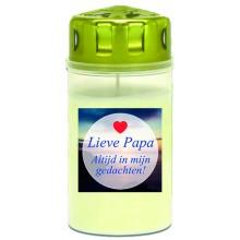 Graflicht wit 3d Lieve papa
