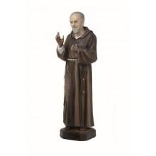 Beeld 20 cm Pater Pio P/st