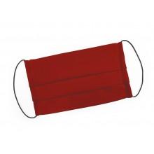 Mondmasker rood met elastiek