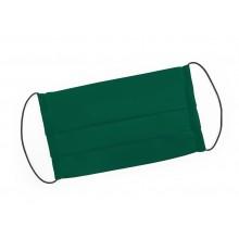 Mondmasker groen met elastiek