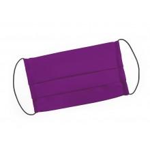 Mondmasker paars met elastiek